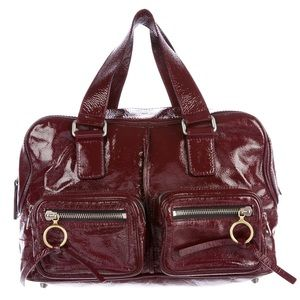 Beautiful CHLOÉ Patent Leather Betty Satchel